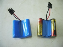 Curve Shaped Alkaline AA Battery Packs
